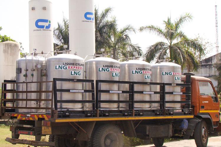 LNG in Microbulk Cryogenic Cylinder