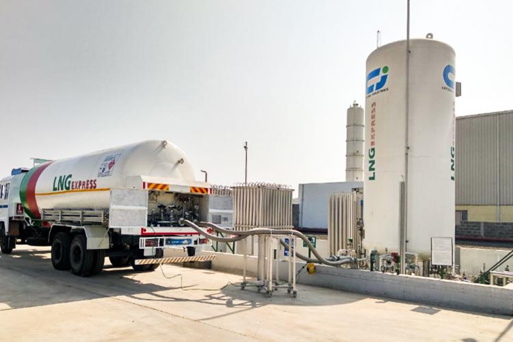 Public LNG Dispensary Station