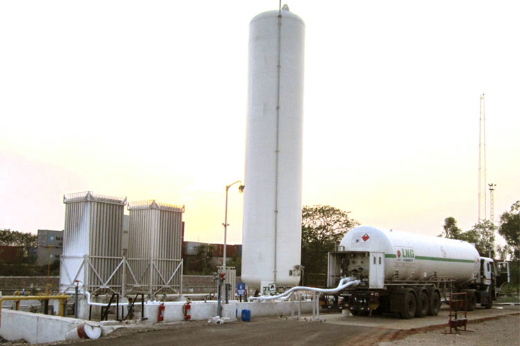 LNG Delivered & Regasified at Industrial Customer Site